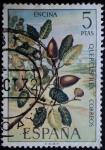 Sellos de Europa - Espa�a -  Encina / Quercus ilex