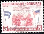 Sellos del Mundo : America : Honduras : Aniv. Nacimiento Lincoln