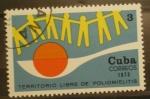 Sellos de America - Cuba -  territorio libre de poliomielitis