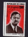 Stamps of the world : Republic of the Congo :  PATRICE LUMUMBA 1925 - 1961