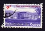 Stamps Africa - Republic of the Congo -  PALAIS DE LA NATION - LÉOPOLDVILLE