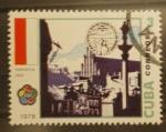 Stamps Cuba -  varsovia 1955