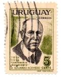 Stamps Uruguay -  Centenario de Nacimiento