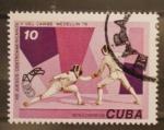 sellos de America - Cuba -  XIII juegos centroamericanos y del caribe - medellin 78