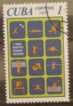 Sellos de America - Cuba -  I  juegos deportivos escolares nacionales