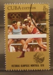 Stamps : America : Cuba :  victorias olimpicas montreal 1976