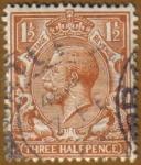 Stamps Europe - United Kingdom -  REY GEORGE V