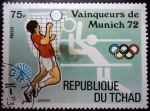 Stamps Chad -  Campeones Munich 1972