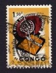 Sellos del Mundo : Africa : República_del_Congo : LE MONDE UNI CONTRE LE PALUDISME