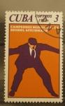 Stamps Cuba -  campeonato mundial de beisbol aficionado
