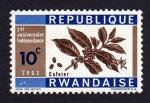 Sellos de Africa - Rwanda -  CAFEIER
