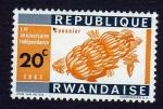 Sellos del Mundo : Africa : Rwanda : BANANIER
