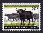 Stamps : Africa : Rwanda :  BUBALUS