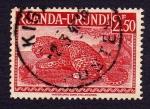 Stamps Africa - Rwanda -  LEOPARDO