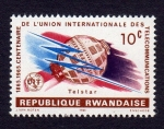 Stamps : Africa : Rwanda :  1865.1965. CENTENAIRE DE L