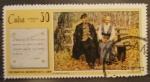 Stamps Cuba -  centenario nacimiento de v.i. lenin