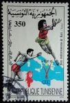 Sellos del Mundo : Africa : Túnez : Juegos Mediterráneos de Bari / Italia