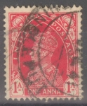 Stamps : Asia : India :  INDIA_SCOTT 153.02 REY GEORGE VI(1A) $0,20