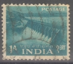 Stamps : Asia : India :  INDIA_SCOTT 257 EMBALSE DAMODAR VALLEY. $0,20
