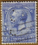 Stamps United Kingdom -  REY GEORGE V