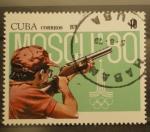 Stamps Cuba -  moscu 80