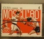 Sellos de America - Cuba -  moscu 80