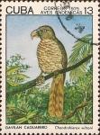 Stamps Cuba -  Aves Endémicas. Gavilán Caguarero, Chondrohierax wilsoni.