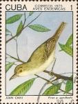 Sellos de America - Cuba -  Aves Endémicas. Juan Chivi, Vireo gundlachi.