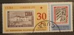 Sellos de America - Cuba -  III exposicion filatelica nacional, matanzas 72