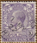 Stamps United Kingdom -  REY GEORGE V