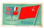 Stamps Africa - Togo -  REPUBLICA DE TOGO-BANDERA-