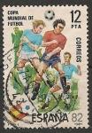 Sellos de Europa - España -  Copa Mundial de Fútbol, ESPAÑA'82. Ed 2613