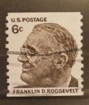 Sellos de America - Estados Unidos -  franklin d. roosevelt