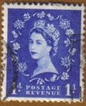 Sellos de Europa - Reino Unido -  QUEEN ELIZABETH