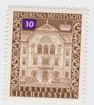 Stamps Europe - Liechtenstein -  Regierungs dienstsache 10