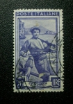 Stamps Italy -  Pescador.