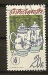 Stamps Czechoslovakia -  Porcelanas Checas.