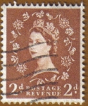 Stamps United Kingdom -  QUEEN ELIZABETH