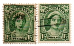 Stamps Australia -  REYNA-dif papel
