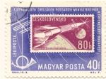Stamps Hungary -  Lanzamiento de Vostok 6