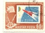 Sellos de Europa - Hungría -  Cohete