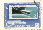 Sellos de Europa - Hungría -  SPUKNIK III