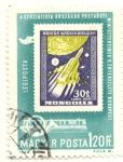 Sellos de Europa - Hungría -  Lunik 1951