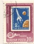 Sellos de Europa - Hungría -  Lanzamiewnto del Luna 1