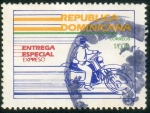 Stamps America - Dominican Republic -  Entrega especial