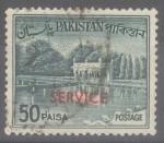 Stamps : Asia : Pakistan :  PAKISTAN_SCOTT O86a JARDNES DE SHALIMAR EN LAHORE (50P). $0.20