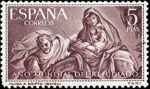 Stamps Spain -  Año Mundial del Refugiado