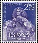 Sellos de Europa - España -  III centenario de la muerte de Velázquez