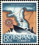 Stamps Europe - Spain -  XXV aniversario del Alzamiento Nacional
