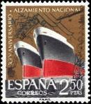 Sellos de Europa - España -  XXV aniversario del Alzamiento Nacional